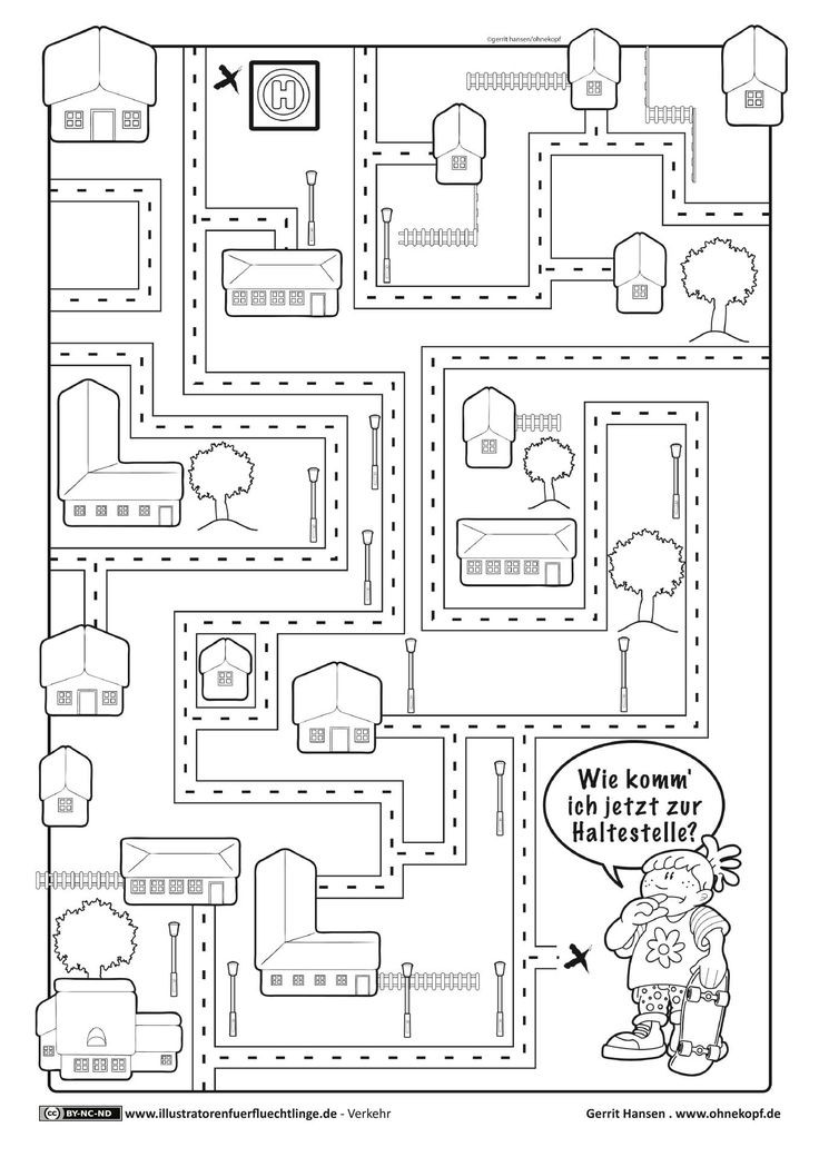 Ausmalbilder Verkehrserziehung  51 besten verkehrserziehung Bilder auf Pinterest