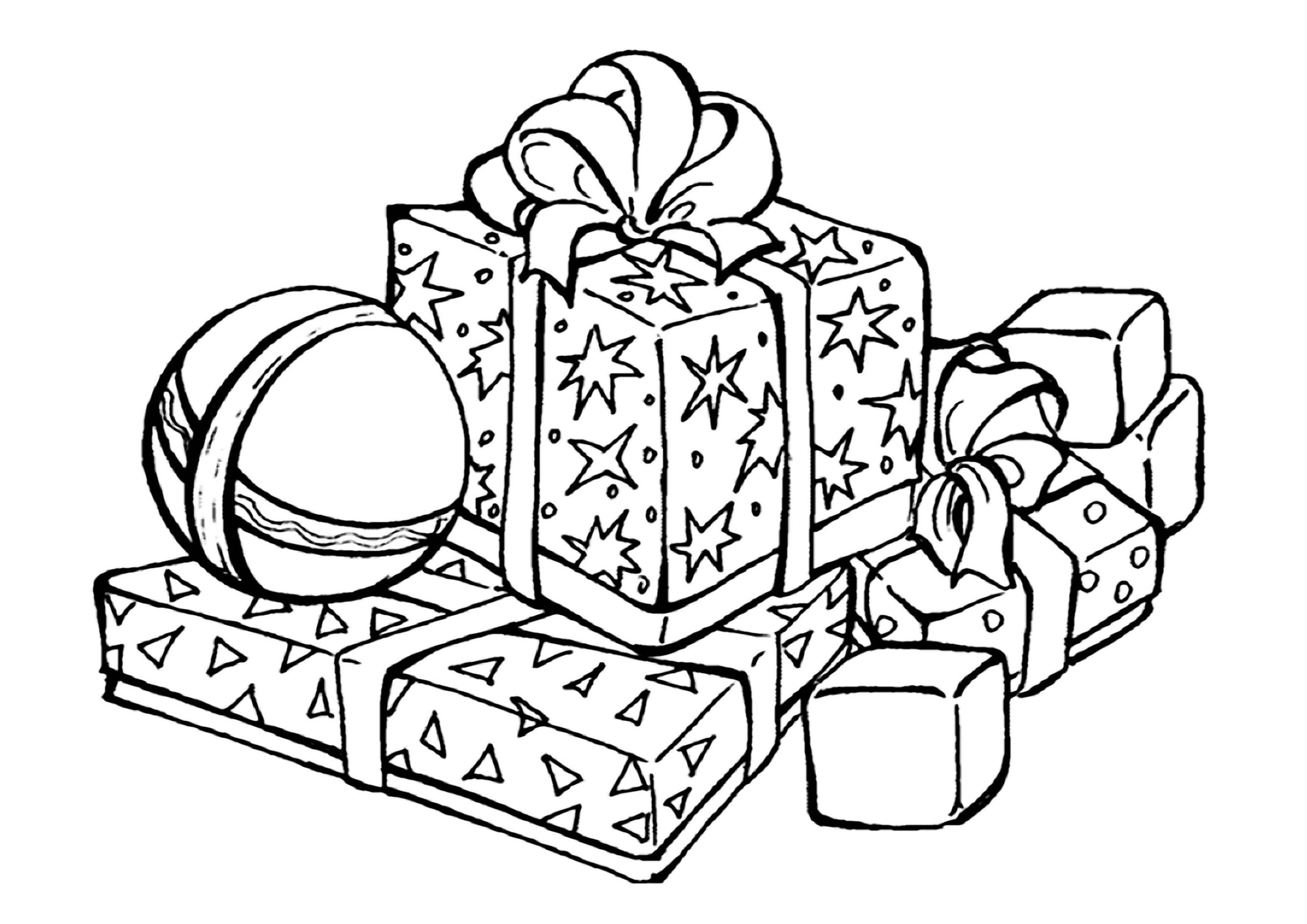 top 20 ausmalbilder weihnachten geschenke  beste