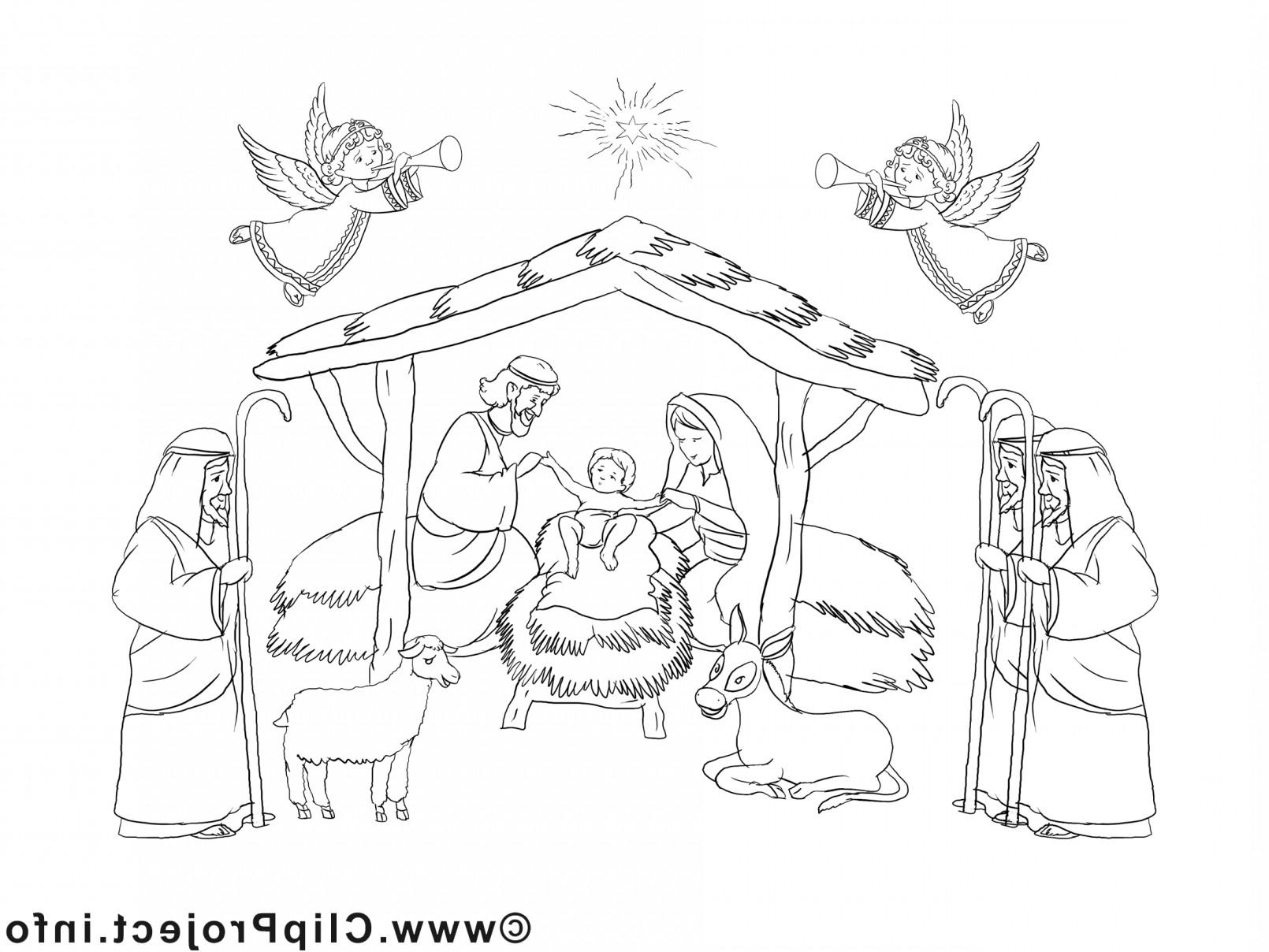 die 20 besten ideen für ausmalbilder weihnachten krippe
