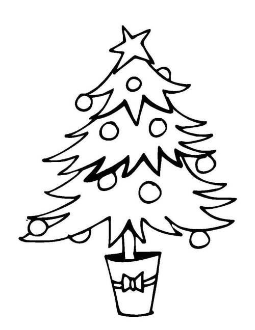 20 besten ausmalbilder weihnachtsbaum mit geschenken