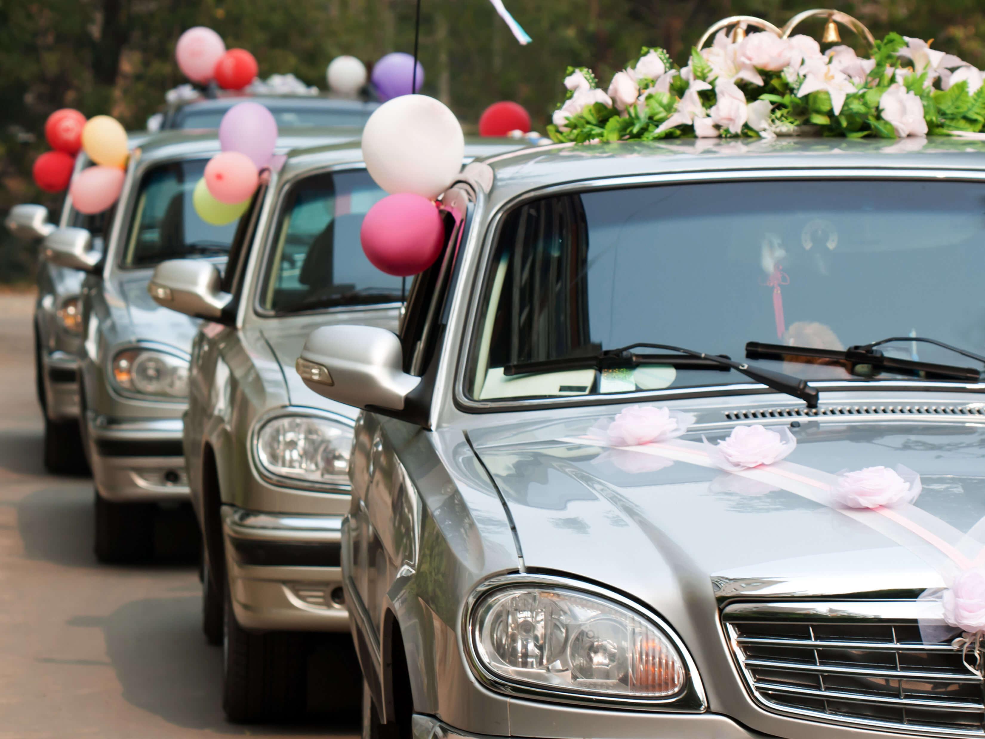 Autoschmuck Für Hochzeit  Kosten für den Autoschmuck bei der Hochzeit
