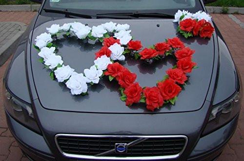 Autoschmuck Für Hochzeit  Autoschmuck für den Tag der Hochzeit bei Amazon