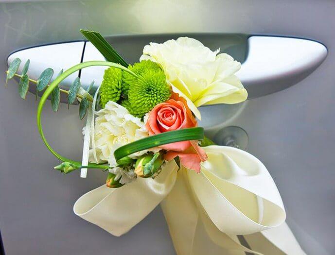 Autoschmuck Für Hochzeit  Autoschmuck für Hochzeit aussuchen