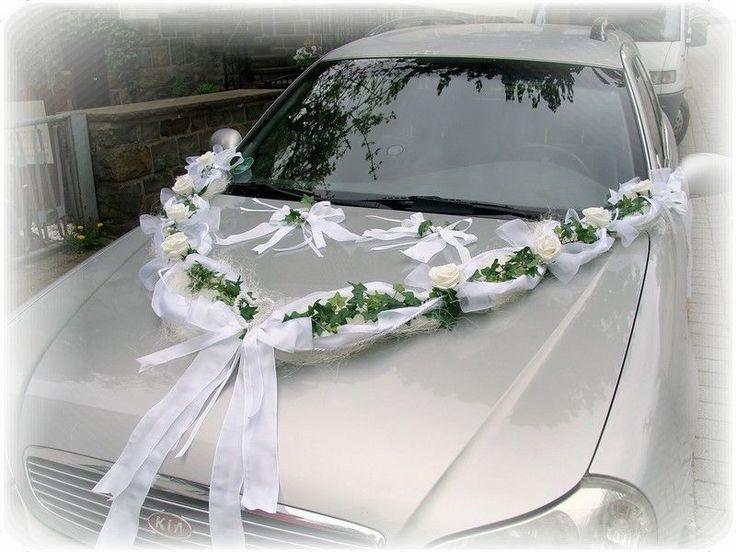 Autoschmuck Hochzeit  96 best images about Hochzeit Autoschmuck on Pinterest