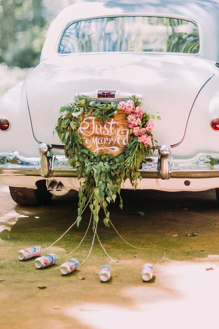 Autoschmuck Hochzeit  Autoschmuck zur Hochzeit