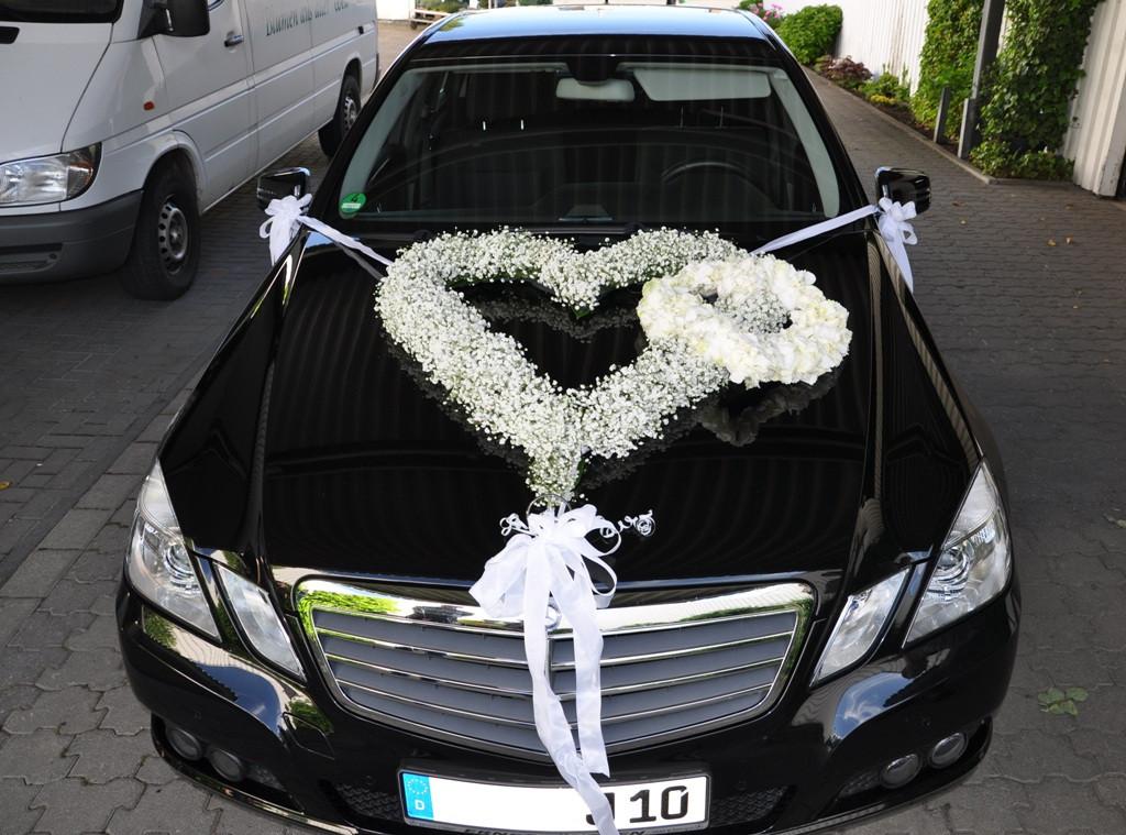 Autoschmuck Hochzeit  AUTOSCHMUCK HOCHZEIT SELBER MACHEN kevinblog