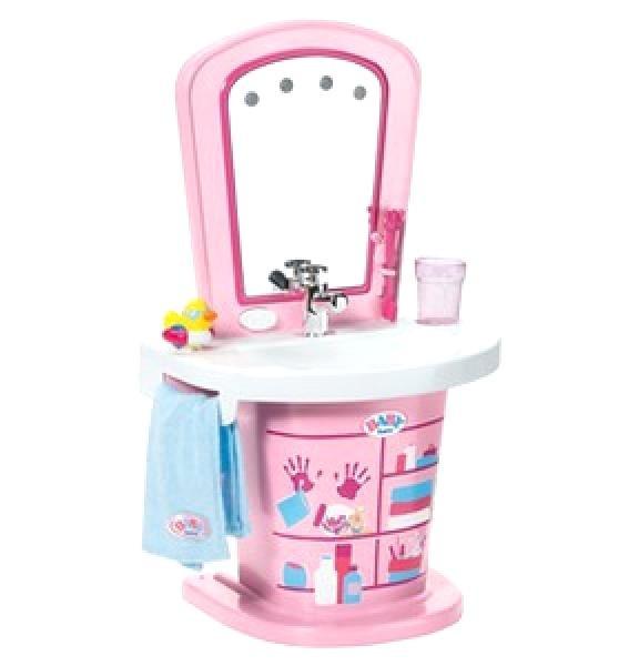 Baby Born Waschbecken  Baby Born Waschbecken Interactive Set Prinzessin Schnuller