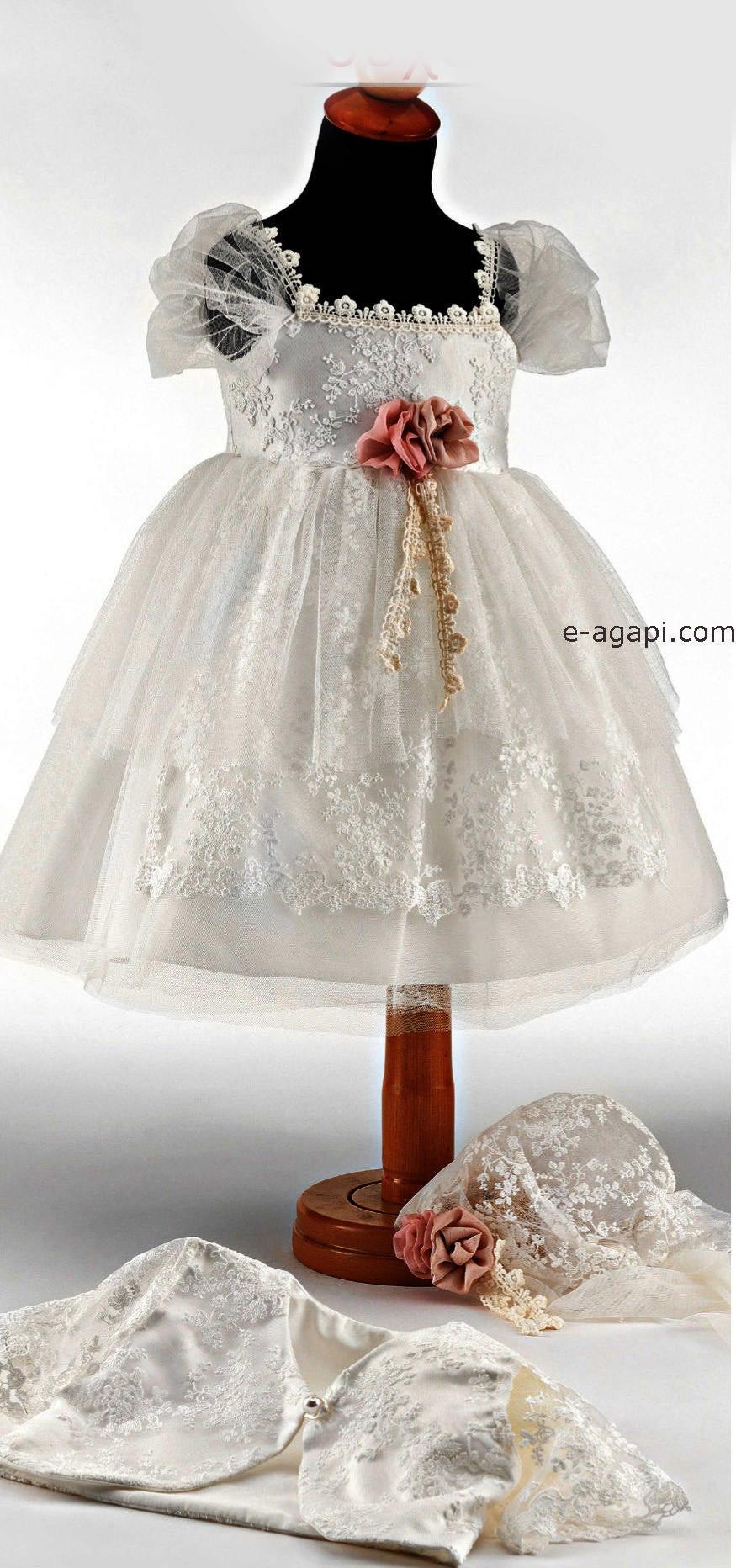 Baby Kleid Hochzeit  Baby Mädchen Hochzeit Kleid Outfit Schuhe Optionen weiß