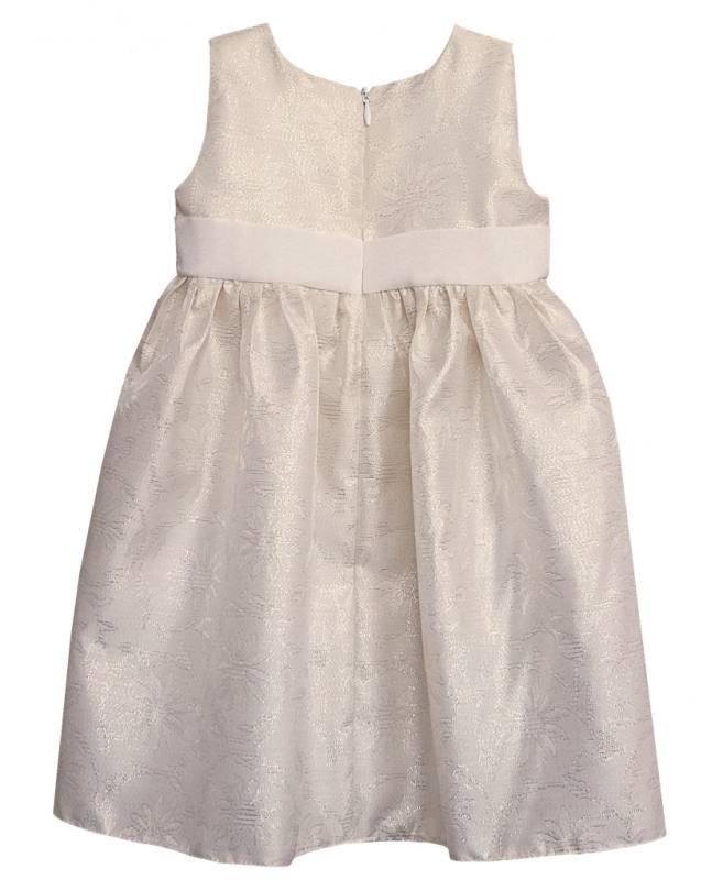 Baby Kleid Hochzeit  Mädchen Baby Kleid Festlich Taufe Hochzeit Party Creme