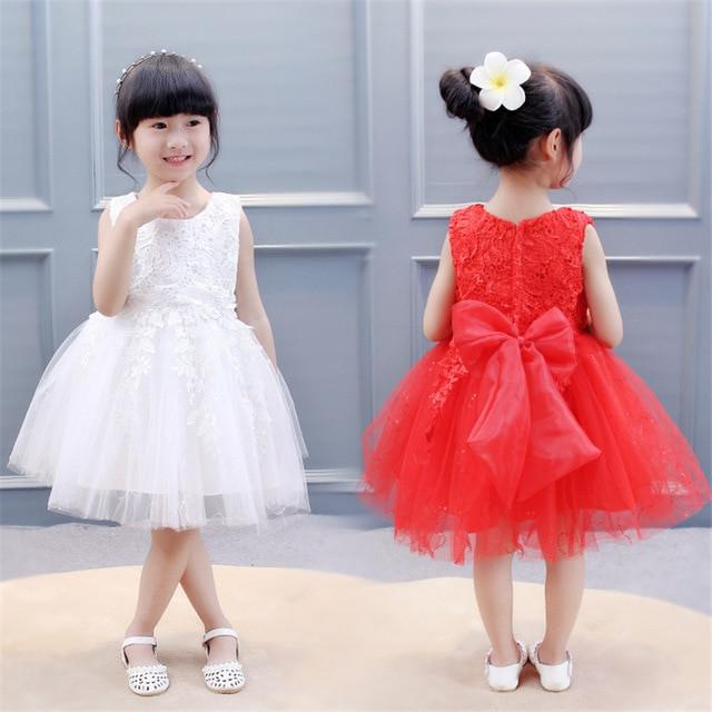 Baby Kleid Hochzeit  BibiCola Mädchen kleid festzug kleid Hochzeit Brautkleid