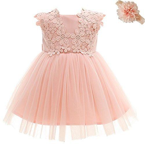 Baby Kleid Hochzeit  Dream Rover AHAHA Baby Mädchen Prinzessin Kleid