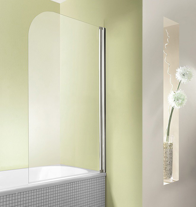 Badewanne Duschwand  Duschwand Badewanne 80 x 160 cm Badewannenaufsatz Höhe 160 cm