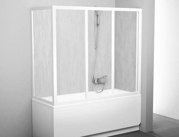 Badewanne Duschwand  Duschwand Badewanne mit Seitenwand Duschabtrennung Dusche