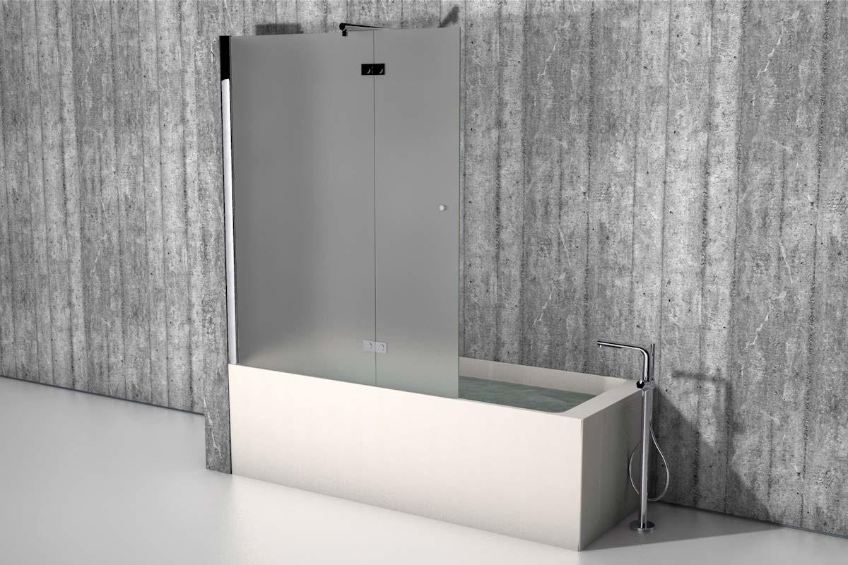 Badewanne Duschwand  Duschwand Badewanne nach Maß