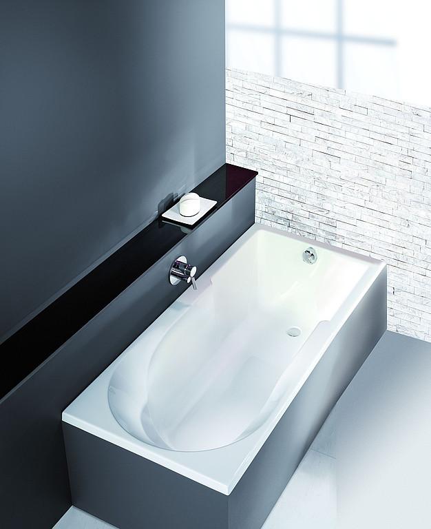 Badewanne Mit Duschzone  HOESCH Badewannen Badewanne Spectra mit Duschzone