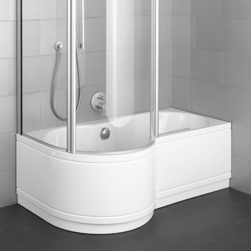 Badewanne Mit Duschzone  Badewanne Mit Duschzone Eckig