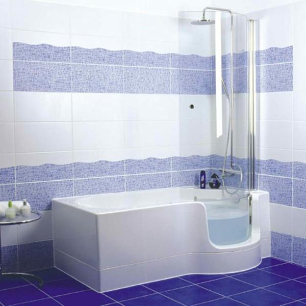 Badewanne Mit Duschzone  Badewanne mit Duschzone tolle Beispiele Archzine
