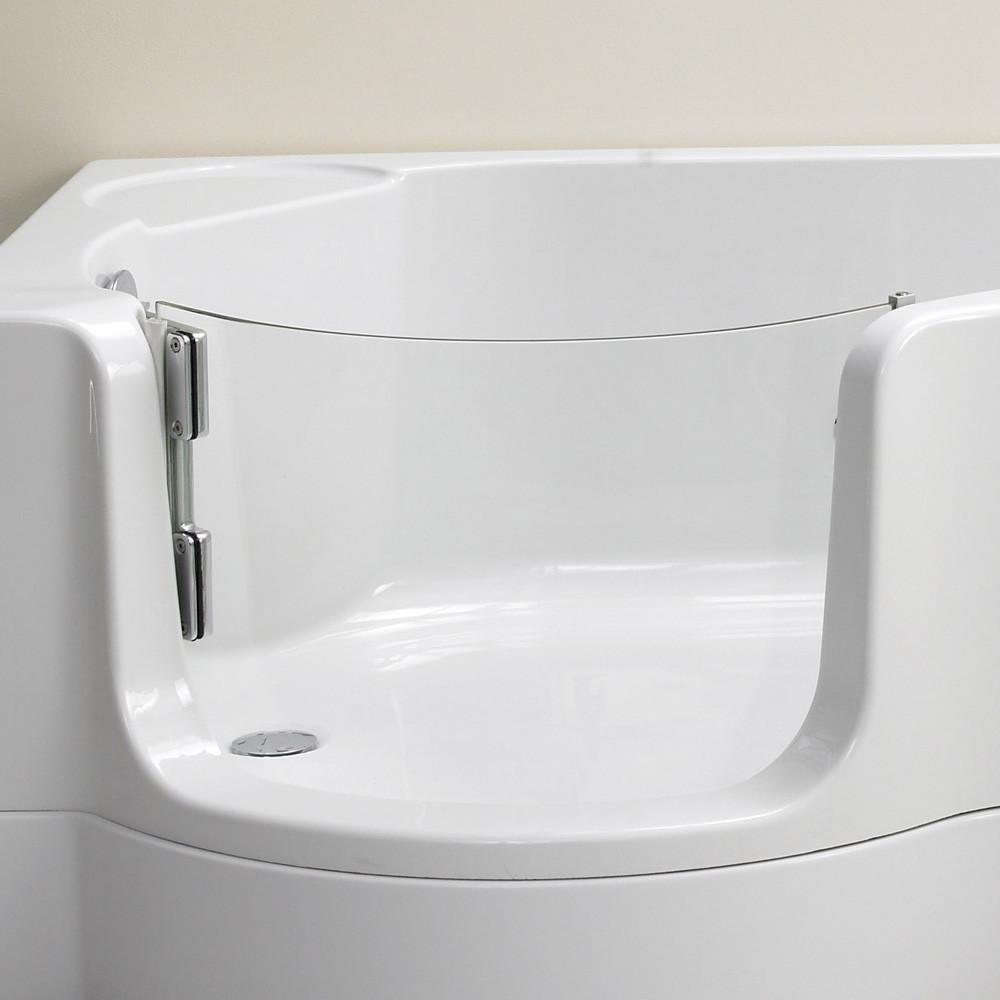 Badewanne Mit Duschzone  Schröder Pazifik Badewanne mit Duschzone Ausführung links
