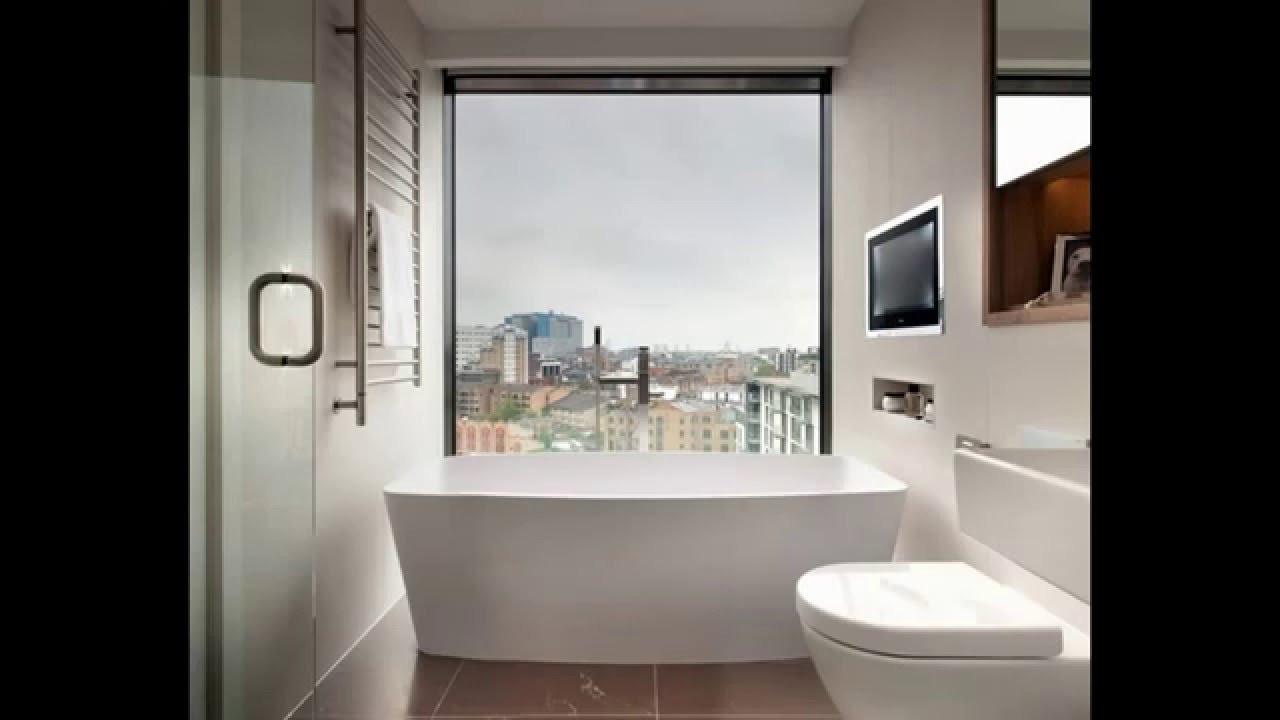 Badezimmer Bilder  Kleine Moderne Badezimmer