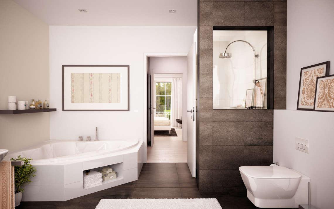 Badezimmer Bilder  Badezimmer Bad mit Wanne