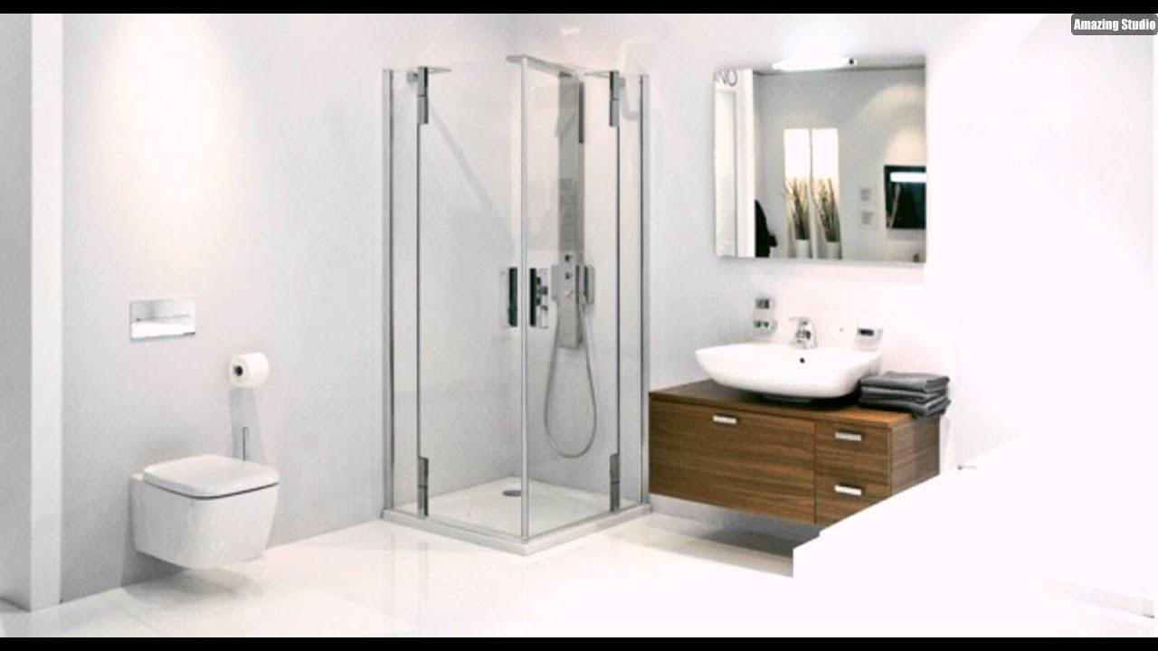 Badezimmer Einrichten  Kleines Badezimmer Einrichten Duschkabine Glas Badmöbel