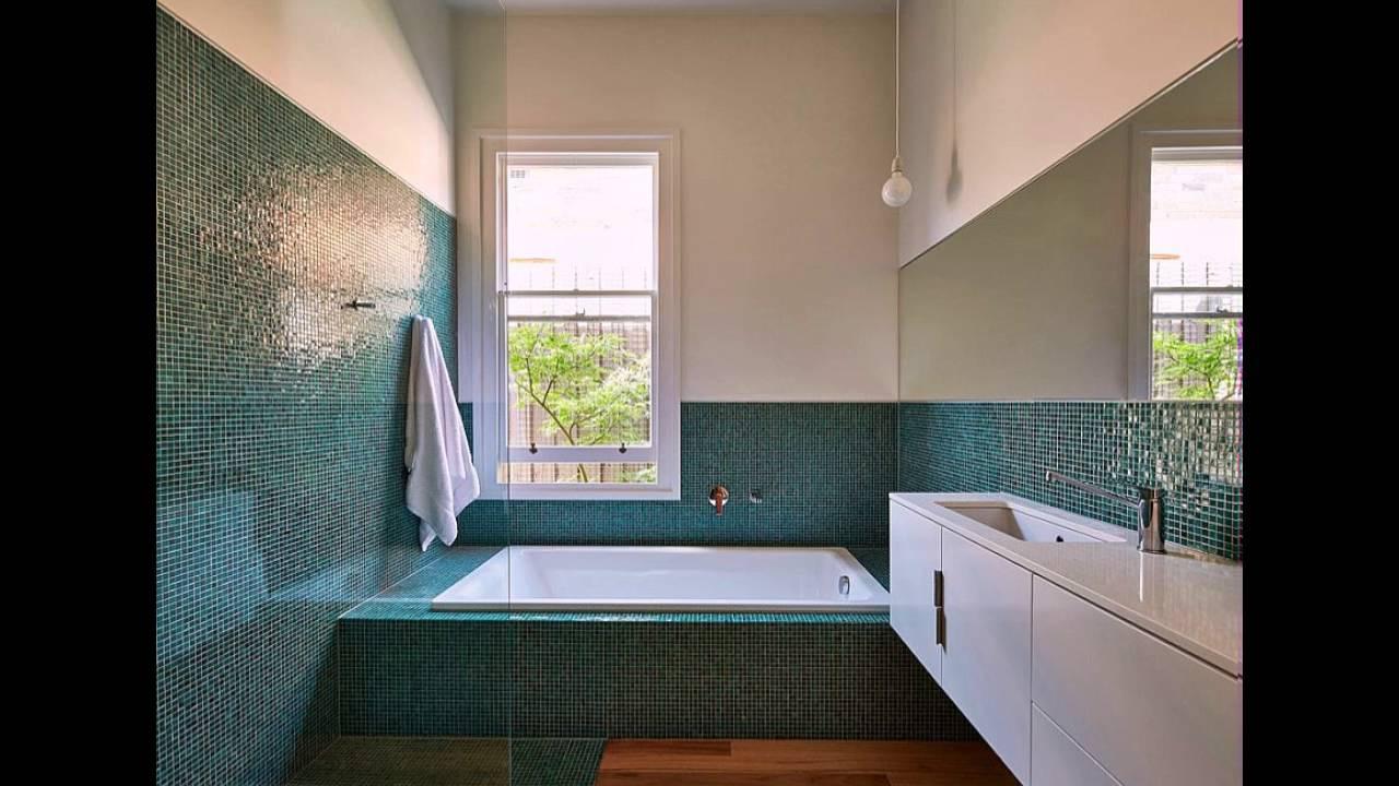 Badezimmer Farbe  Fliesen Farbe und Glanz in Moderne Badezimmer