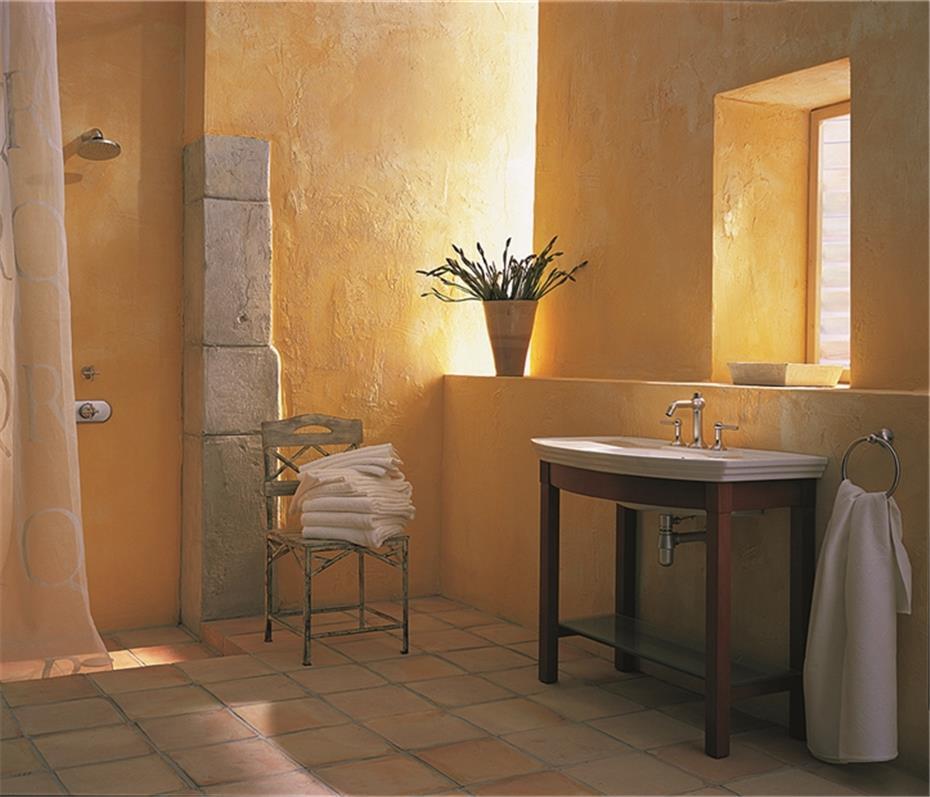 Badezimmer Farbe  Mehr Farbe ins Badezimmer