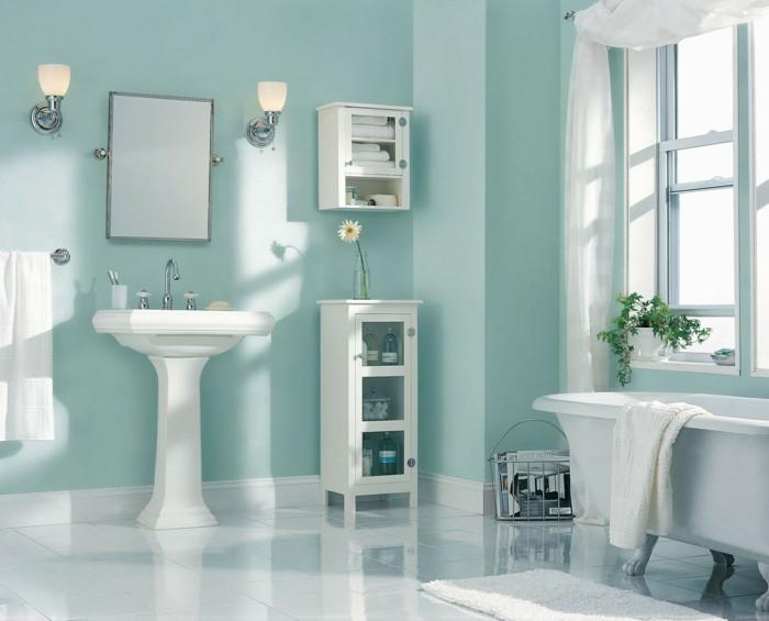 Badezimmer Farbe  40 erstaunliche Badezimmer Deko Ideen Archzine