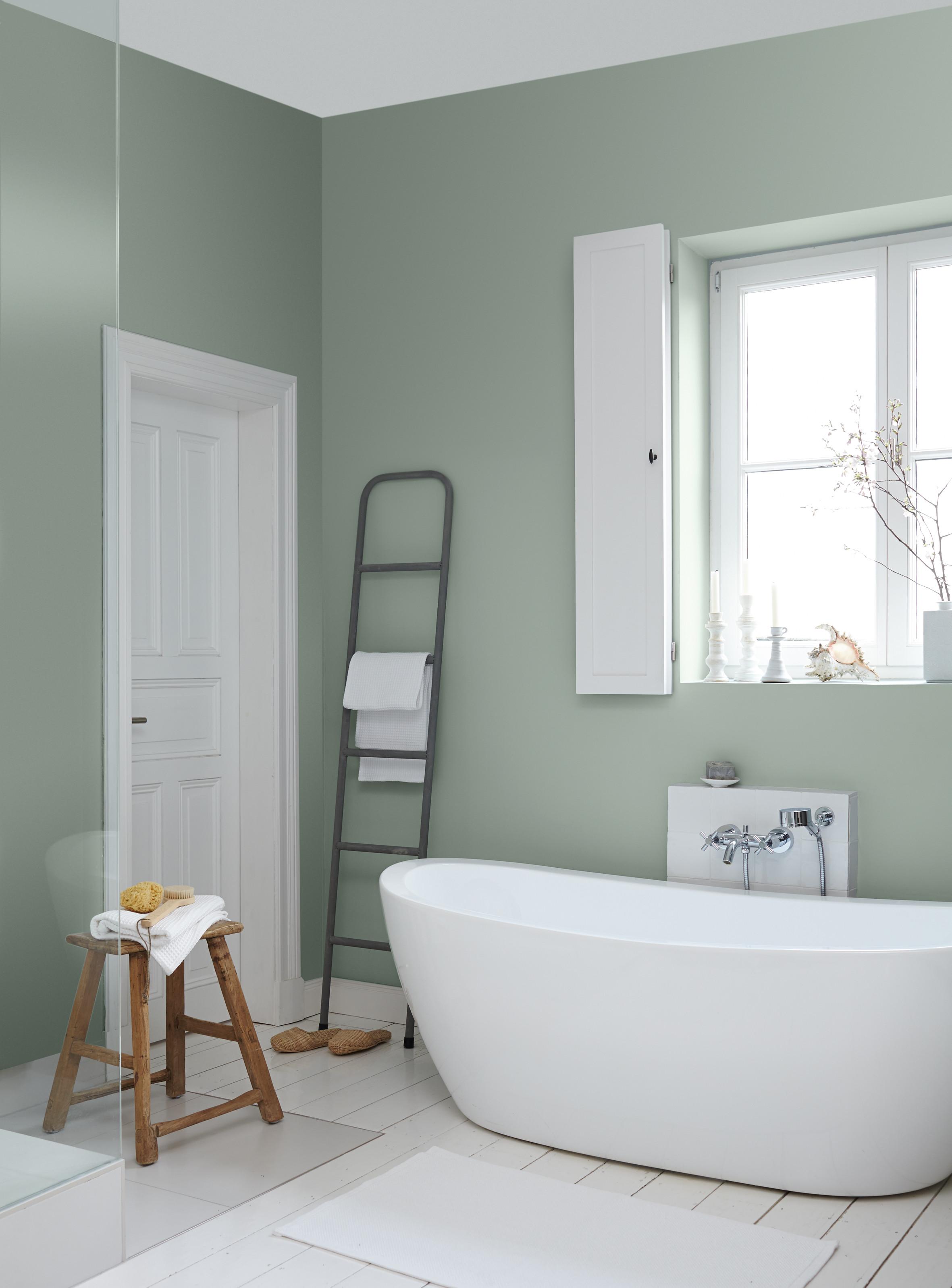 Badezimmer Farbe  Ideen fürs Streichen und Gestalten vom Bad Alpina Farbe