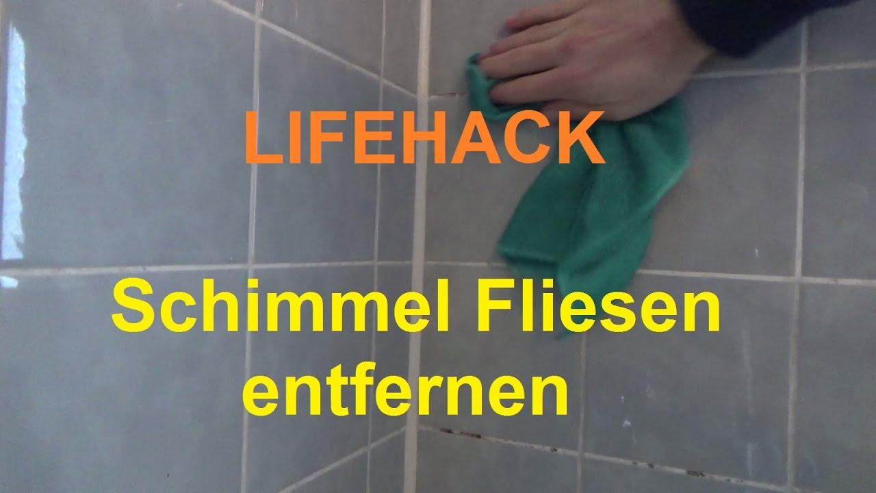 Badezimmer Fliesen Reinigen  Badezimmer Fliesen Schimmel beseitigen Bad Schimmel