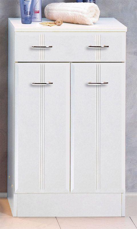 Badezimmer Schrank  Badezimmer Schrank Toulouse in Weiß kaufen auf Pharao24