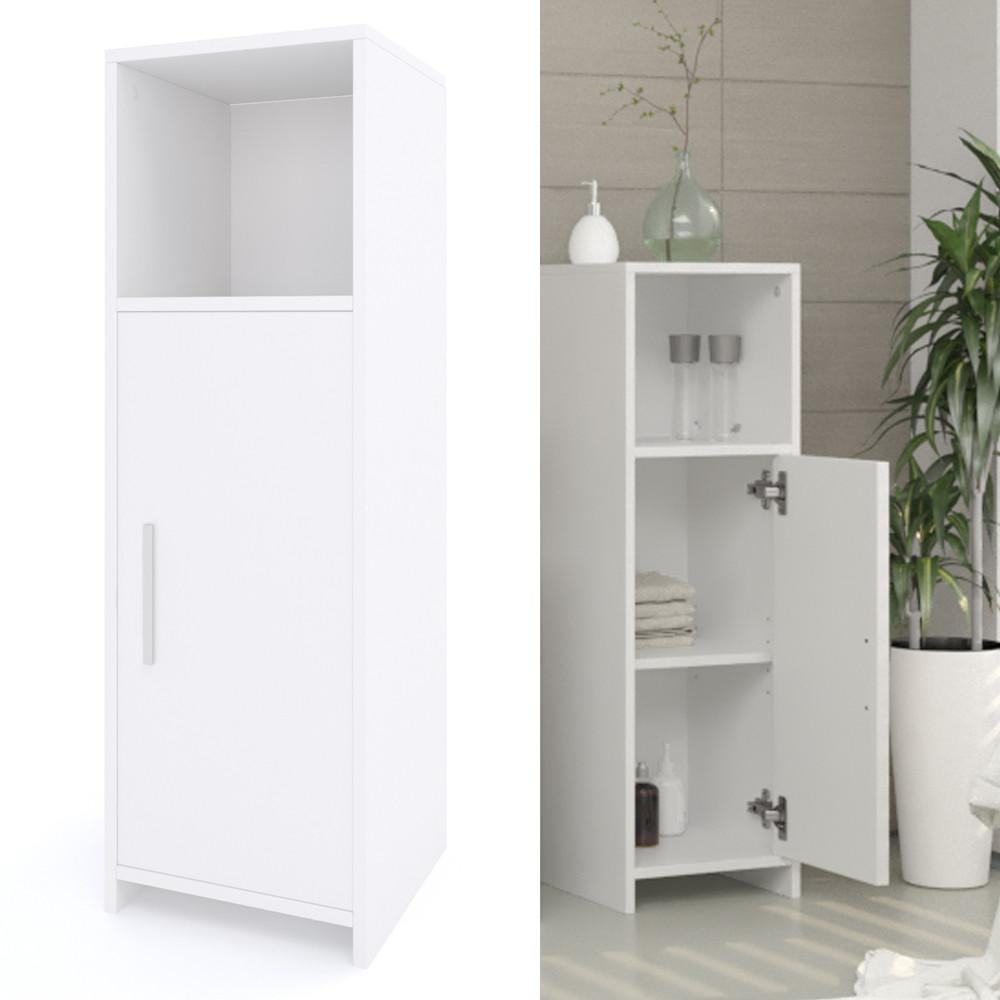 Badezimmer Schrank  Vicco Badschrank KIKO 95 x 30 cm Weiß