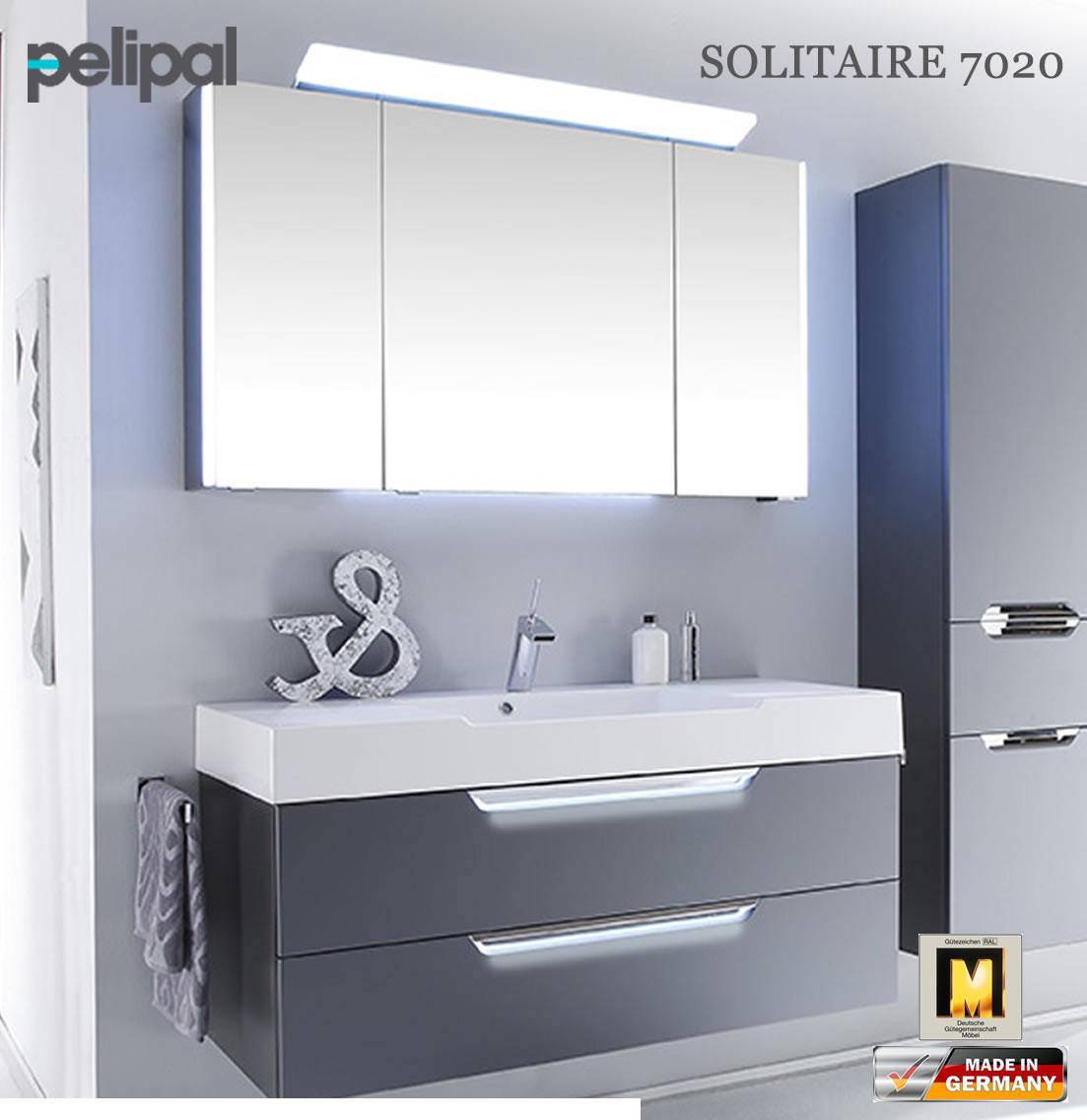 Badmöbel Pelipal  Pelipal Solitaire 7020 Badmöbel Set mit 1200 mm Waschtisch