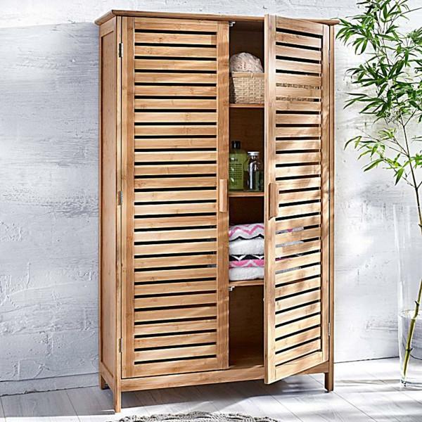 Badschrank Holz  Moderner Badschrank 30 interessante Bilder Archzine