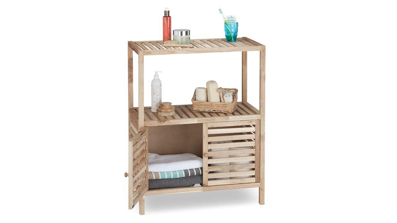 Badschrank Holz  Badschrank Holz in 3 Größen kaufen