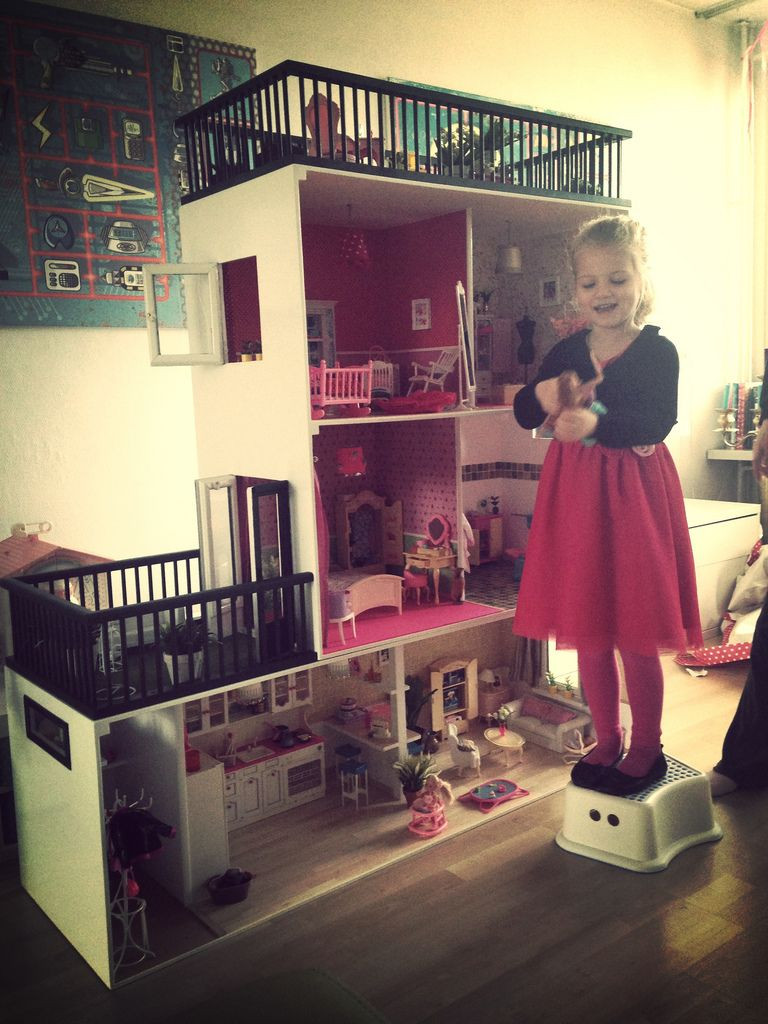 Barbie Haus  Barbie House for my niece part 2