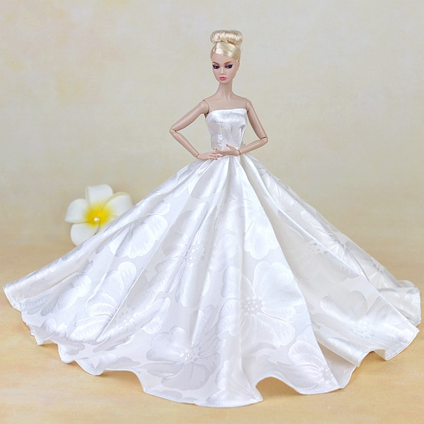 Barbie Hochzeitskleid  line Get Cheap Barbie Wedding Dress Aliexpress