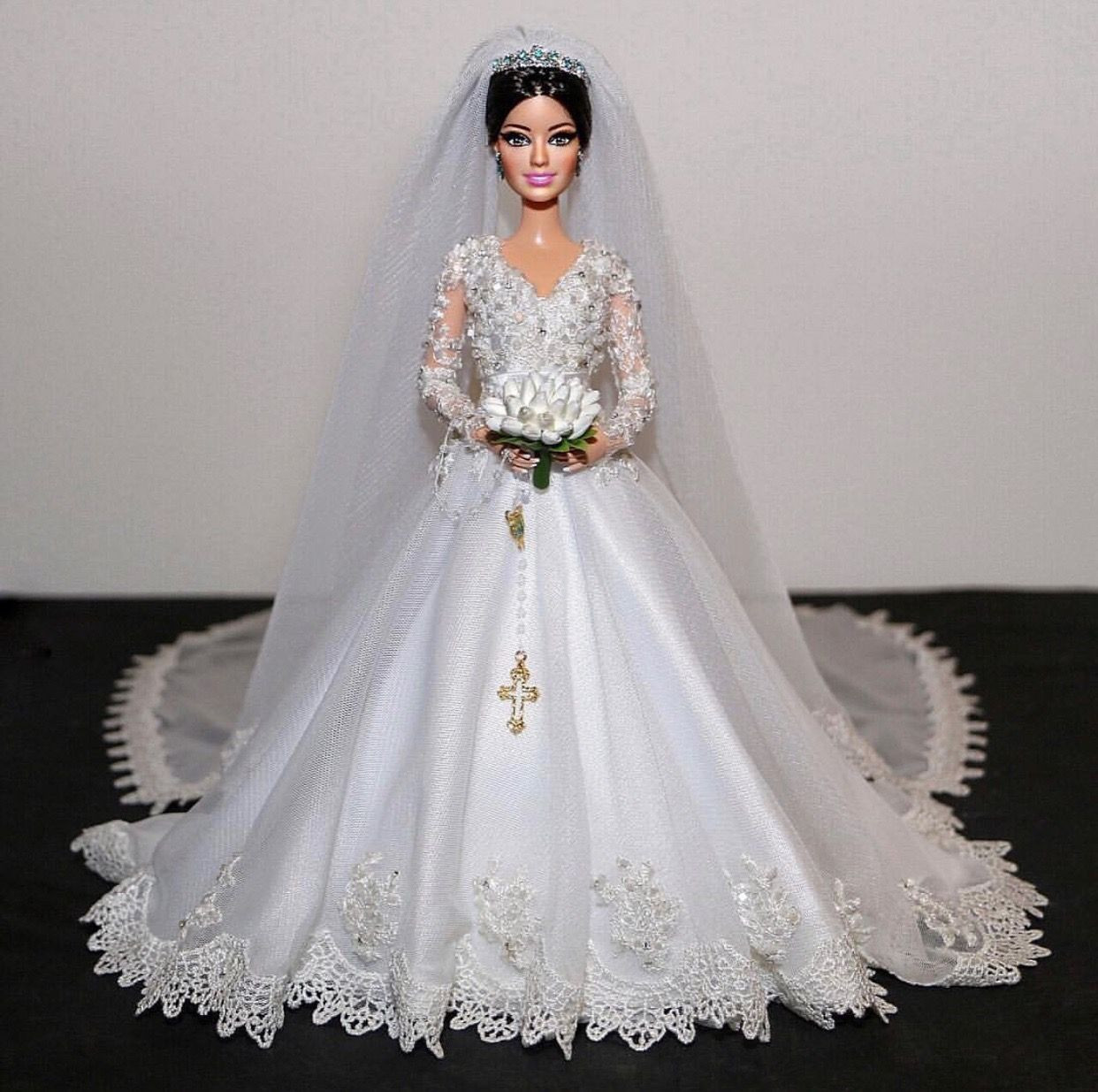 Barbie Hochzeitskleid  1 2 sammurakammi Barbie Doll Brides 2