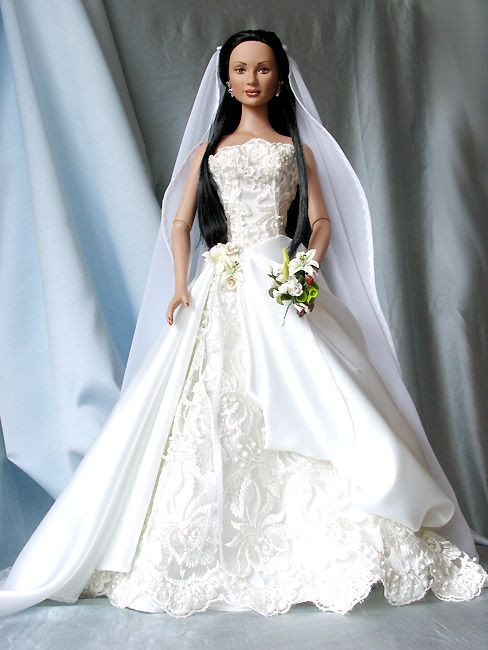 Barbie Hochzeitskleid  1950 best Barbies and dolls images on Pinterest