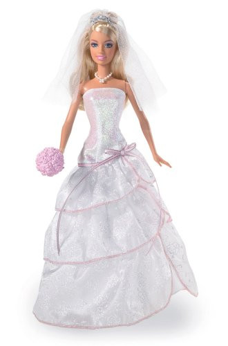 Barbie Hochzeitskleid  Barbie Doll Reviews Barbie Sparkle Wedding Day Bride