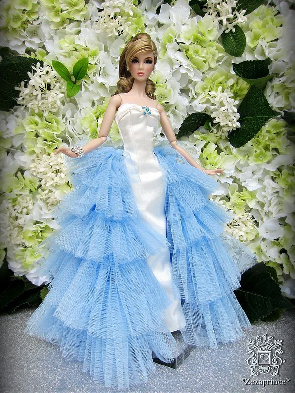 Barbie Hochzeitskleid  fashion doll EdeN Barbie