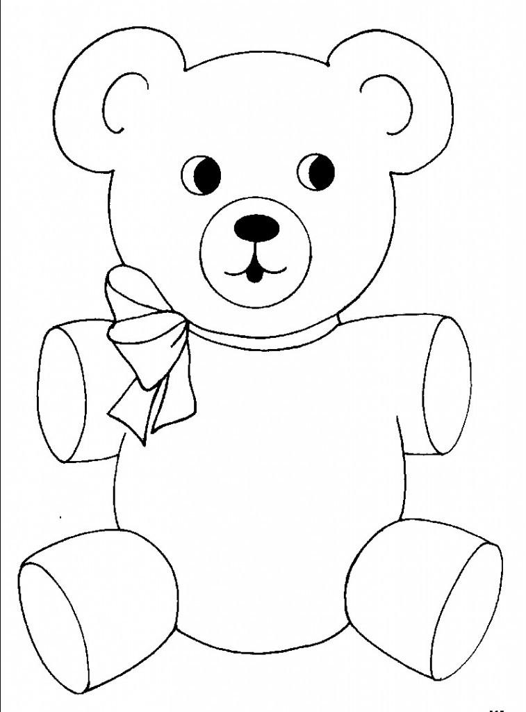 Bären Ausmalbilder  Malvorlagen fur kinder Ausmalbilder Bären kostenlos