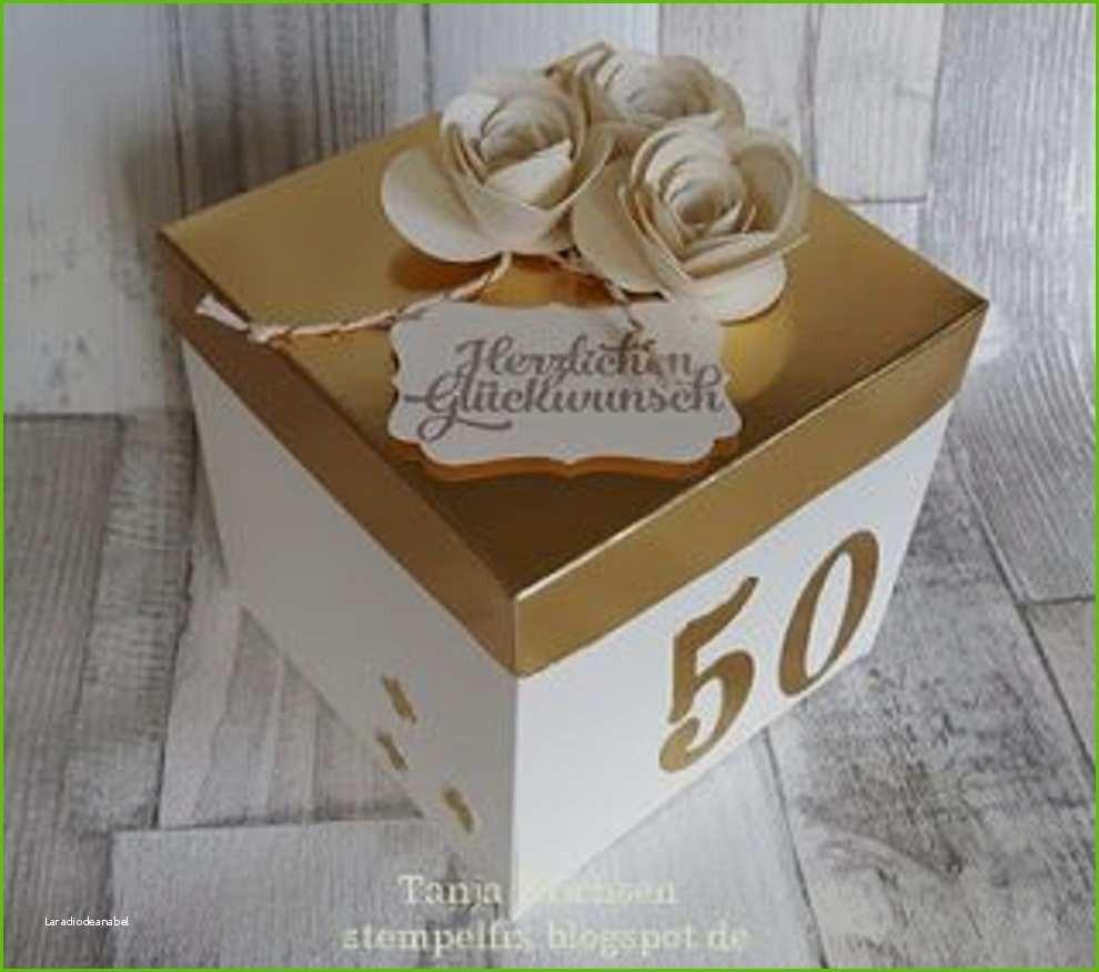 Bastelideen Goldene Hochzeit  ideen für goldene hochzeit Good Neuesten Geschenke Goldene