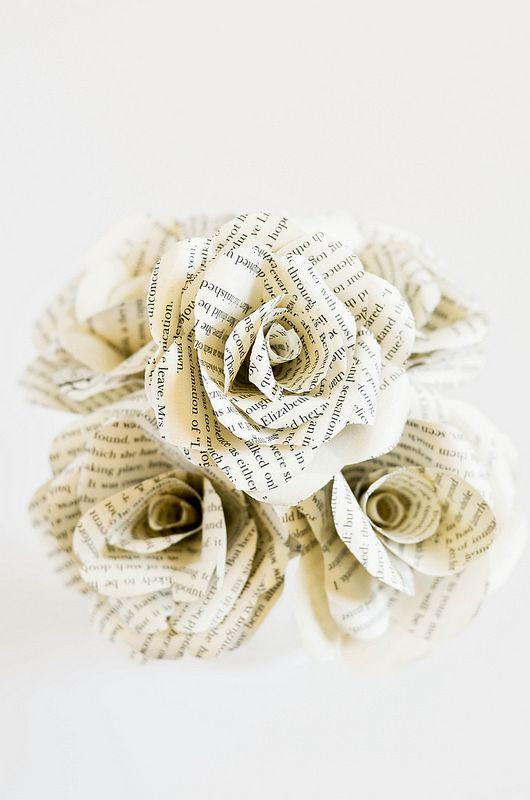 Bastelideen Goldene Hochzeit  20 DIY Bastelideen zur Hochzeit DIY Papier Rosen