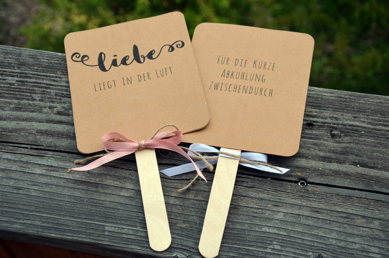 Basteln Für Hochzeit  Anleitung DIY Fächer für Hochzeit oder Gartenparty
