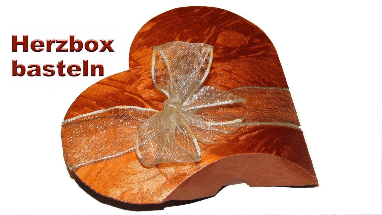 Basteln Für Hochzeit  Geschenkbox basteln Geschenkverpackung für z B