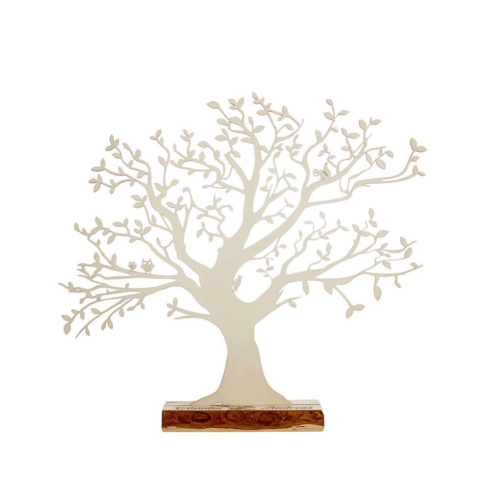 Baum Zur Hochzeit  Baum mit Sockel graviert zur Hochzeit groß Geldgeschenk
