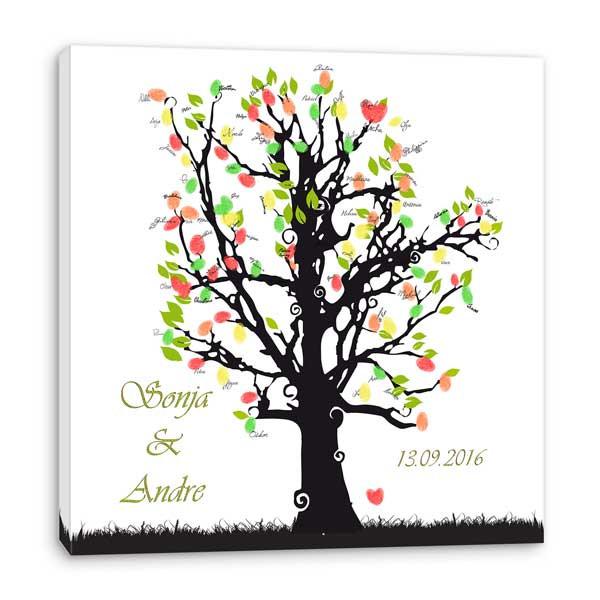 Baum Zur Hochzeit  Hochzeitsbaum Grün♥
