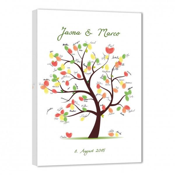 Baum Zur Hochzeit  Namen & Datum