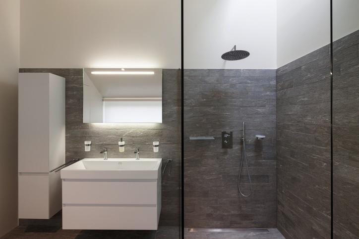 Begehbare Dusche  Begehbare Duschen liegen im Trend